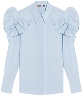 MSGM Ruffle Shoulder Shirt