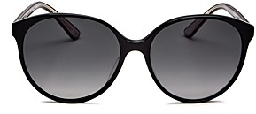 Oliver Peoples Brooktree Polarized Round Sunglasses, 58mm