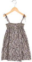 Bonpoint Girls' Sleeveless Floral Print Dress
