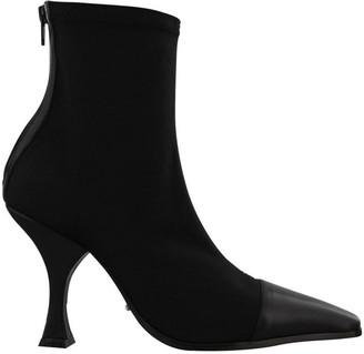 Tony Bianco Khan Black Lunar Black Como Ankle Boot