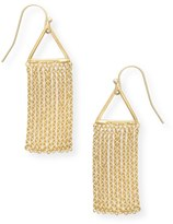 Oliver Bonas Remos Triangle & Chain Drop Earrings