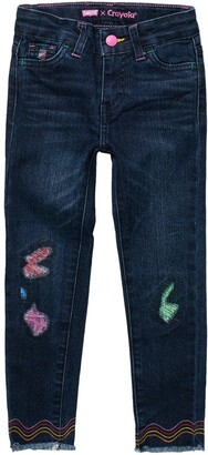 Levi's 710 Super Skinny Frayed Hem Jeans