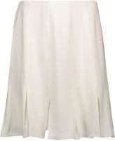 Rachel Zoe Brielle pleated stretch-crepe mini skirt