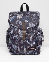 Eastpak Austin Backpack In Fern Blue