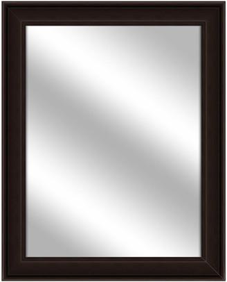 PTM Images Over the sink Vanity Mirror, Espresso, 26.75x32.75