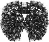 Noir Kei Ninomiya Floral Faux Leather Harness - Black