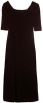 Saint Laurent Velvet Dress