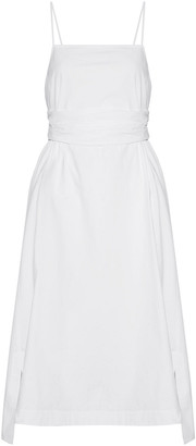 Elizabeth and James Cotton-blend Poplin Dress
