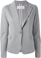 Fabiana Filippi single button soft blazer - women - Cotton - 42