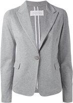 Fabiana Filippi single button soft blazer - women - Cotton - 46