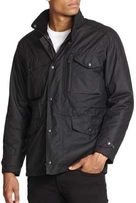Barbour Hooded Waxed Jacket