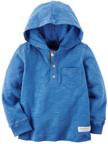 Carter's Long-Sleeve Hooded Tee