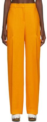 Jacquemus Yellow Le Pantalon Moyo Trousers