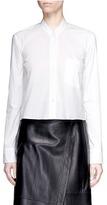 Helmut Lang Mandarin collar poplin shirt