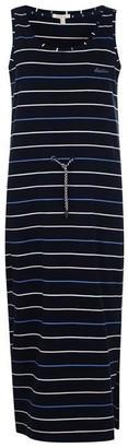 Barbour Striped Midi Dress