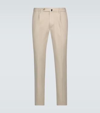 Incotex Slim-fit cotton-blend pants
