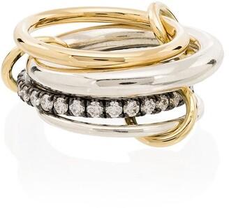 Spinelli Kilcollin Janssen 18K yellow gold diamond ring