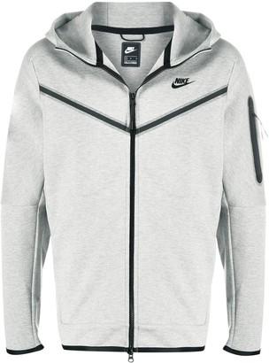 Nike Embroidered Logo Zipped Hoodie