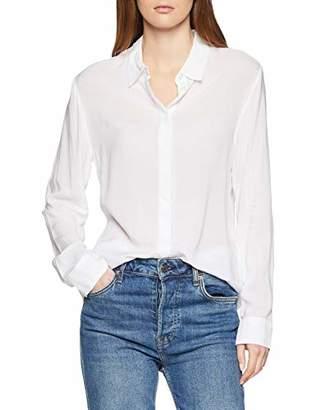 Benetton Women's Casual Shirt,One (Size: Large)