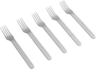 Everyday Set Of 5 Forks