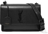 Saint Laurent Sunset Medium Textured-leather Shoulder Bag