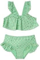 Hula Star 'Milkshake' Two-Piece Swimsuit (Toddler Girls & Little Girls)