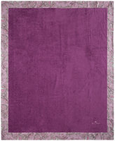 Etro Abbots Beach Towel for 2 with Border - Purple