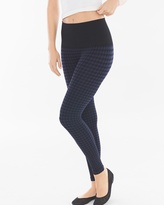 Soma Intimates Slimming Leggings Houndstooth Navy