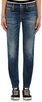 R 13 Women's Relaxed Skinny Jeans-BLUE