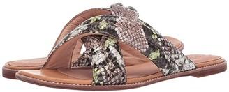 Madewell Skyler Slide Sandal (Mint Cream Multi) Women's Shoes