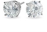 Zales 3 CT. T.W. Diamond Solitaire Stud Earrings in 14K White Gold