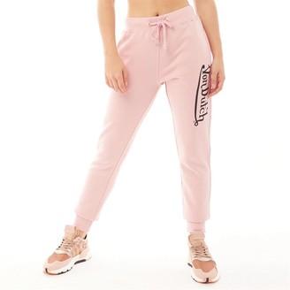Von Dutch Womens V-Dawn Joggers Light Pink/Black