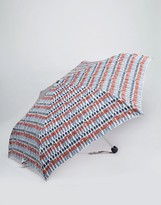 Cath Kidston Minilite Umbrella in Guards Print