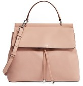 Louise et Cie 'Towa' Leather Top Handle Satchel - Pink