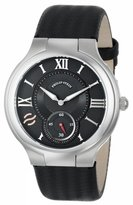 Philip Stein Teslar Men's 42-BK-BB Round Dial Ballistic Strap Watch