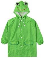 Doshop-Clothing Kids Raincoat,Doshop Cute Waterproof Kids Cartoon Raincoat Poncho for Children Suit Age 3-8 Years
