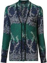 Yigal Azrouel Ivy Trellis blouse - women - Polyester/Spandex/Elastane - 0