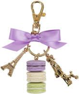 LADUREE Parisienne Macarons Keyring - Cassis Violet