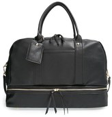Sole Society 'Mason' Faux Leather Weekend Bag