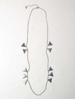 White Stuff Geo triangle necklace