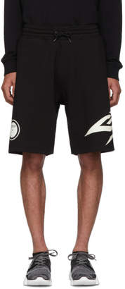 Givenchy Black Glow-In-The-Dark Shorts