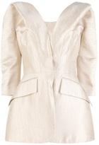 Alexander McQueen jacquard tailored jacket