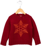 Petit Bateau Boys' Crew Neck Wool Sweater