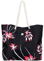 Roxy Printed Tropical Vibe Tote Beach Bag