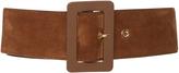 Marni Leather-Trimmed Suede Belt