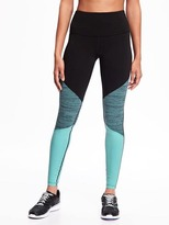 Old Navy Go-Dry High-Rise Color-Block Compression Tights for Women