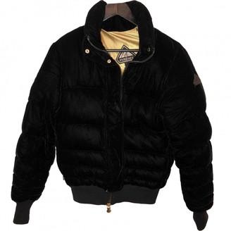 Pyrenex Black Velvet Coat for Women
