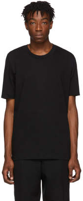 Jil Sander Black Cotton T-Shirt
