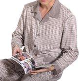 TopTieen'sajestic Knitted Lounge Sleepwear Set,ulti Pattern