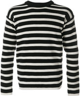 S.N.S. Herning striped knitted sweater